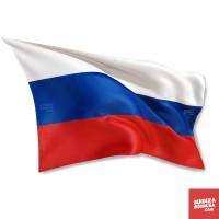 Bendera Negara Rusia - 130cm x 90cm
