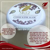 COFFEE KEFIR MASK SR12 / MASKER KEFIR KOPI 100gr