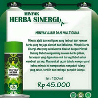 Minyak herbal sinergi, pasta gigi herbal,andrographis centela