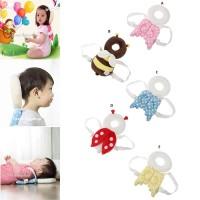 Baby Pillow Head Protector|Bantal Pelindung kepala Bayi|Pengaman - E Yellow Polkad