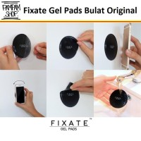 Sticky Pad Fixate Gel MODEL BULAT Anti Slip Pad for Car Dashboard Ori