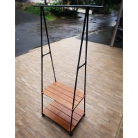 Triangle Stand hanger - Rak Baju