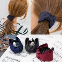 jepit klip butterfly import vintage korea maroon aksesoris rambut sale