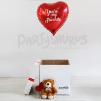 Love is in the air floatbox / surprise box balon hati