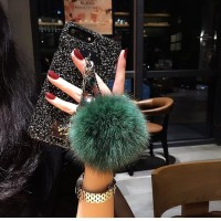Case oppo F5 A37 A83 F1s F7 diamond pompom quicksand DIY phone cas