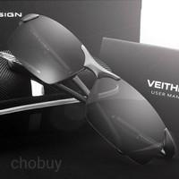 Kaca mata Pria Sunglasses Original Polarized Magnesium VEITHDIA