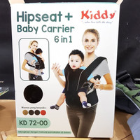 Gendongan 6in1 Baby Carrier 6in1 Kiddy Hipseat 6 in 1 NEW KD 72-00