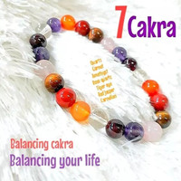 Gelang 7 Cakra New Batu Alam 8mm