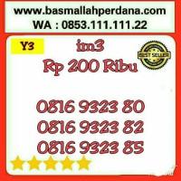 Nomor Cantik im3 10 Digit murah 0816 9323 80 rapih Y5 702