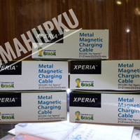 kabel charger magnetik sony xperia
