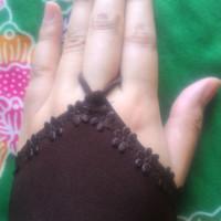 Manset Handsock Renda Ring Cincin Muslimah