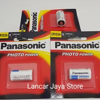Baterai Panasonic CR123A ORIGINAL