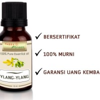 Happy Green Pure Ylang Ylang Essential Oil 10 ml Minyak Bunga Ylang
