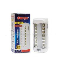 Lampu LED Emergency Surya SQL L2207 Lampu Darurat Rechargeable