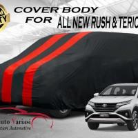 Body Cover 2 Warna Sarung Mobil 2 Warna - All New Rush & Terios 2018