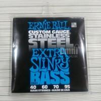 Ernie Ball 2845 Stainless Steel Extra Slinky 40-95 - Senar Bass