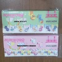 Memo Post It LittlePony dan Carrousel Kartun Sticky Note Memo Marker