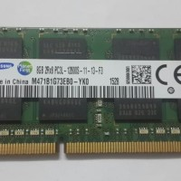 RAM Laptop Sodimm Samsung DDR3 PC3L 8GB PC12800S