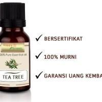 Happy Green Minyak Atsiri Tea Tree 30 ml Melaleuca Essential Oil