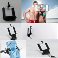 New Tongsis / Monopod With Holder (Model U BESAR) for Smart Phone and