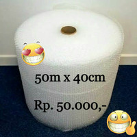 Bubble Wrap Roll Ukuran 40cm x 50m