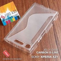Soft Jelly Case Sony Xperia XZ1 Softcase Silikon Silicon Casing Cover