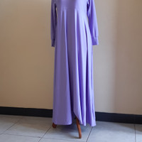 Gamis jersey super model polos