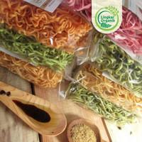 Mi Lingkar Organik | Mie Sayur Organik | Mie Non MSG | Mie MPasi - Bayam