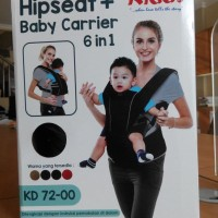 KIDDY HIPSEAT - BABY CARRIER 6 IN 1 KD 7200