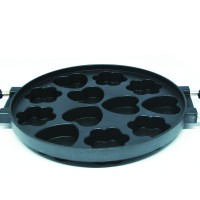 Star pan 12 lubang/ Starpan 12 holes/ snack maker