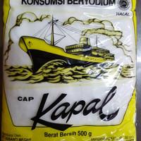 """Garam Kapal"""" beryodium 500gr"""