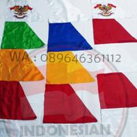 Bendera Umbul - Umbul Warna warni atau merah putih | 3 m | termurah