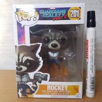 mainan action figure funko pop rocket racoon guardian of the galaxy  B