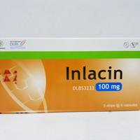 Inlacin 100 mg isi 30 kapsul