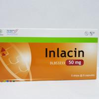Inlacin 50 mg isi 30 kapsul