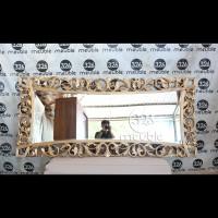 Cermin Hiasan Jati Mebel Jepara, Cermin Ukiran Jati, Pigura Hiasan
