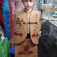 Pakaian adat anak baju papua kayu Lk - Pr