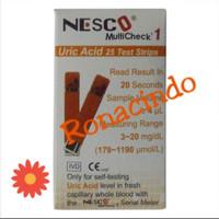 Strip Nesco Asam Urat / Strip Nesco Uric Acid