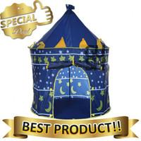 Tenda Castle Anak Istana Biru Jumbo / Mainan Rumah Rumahan Anak Bagus