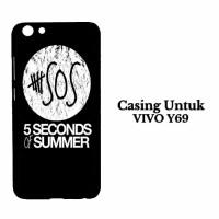 Casing VIVO Y69 5 Second Of Summer Log Hardcase Custom Case Se7enstore