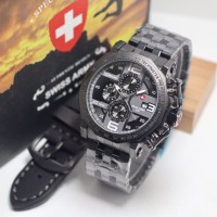 jam tangan SWISS ARMY PRIA SAFETY BUTTOM WATCH SET