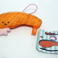 Boneka Kirimi Chan Original Sanrio A Fillet Of Salmon New Character