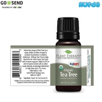 Plant Therapy Organic Tea Tree 10ml Murni Essential Oil