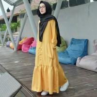 Gamis wanita velove/Dress muslim/Gamis wanita/Gamis daily/Gamis pastel