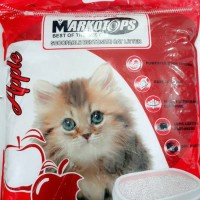 Markotops Bentonite Cat Litter 25 liter - Pasir Kucing Gumpal