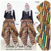 Celana aladin batik modern Bawahan wanita muslim Celana kulot modern