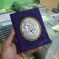 Cetak Buku Yasin Beludru 176 Hal Mattpaper + Siku + Rumbai + Plastik