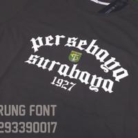 T1378 Kaos Tshirt Baju Combed 30S Distro Persebaya Surabaya Bonek