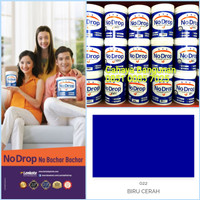NO DROP BIRU CERAH 022 Cat Waterproofing 1 Kg NoDrop Kaleng 1Kg Blue