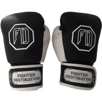 Boxing MMA Muay Thai Gloves Leather Kulit Fighter Destination 2.0